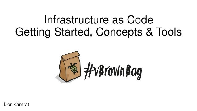 Infrastructure as Code Getting Started, Concepts & Tools Lior Kamrat