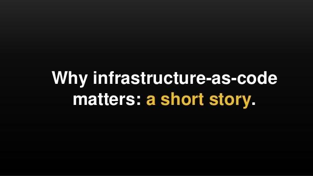 Infrastructure as code: running microservices on AWS using Docker, Terraform, and ECS Slide 2