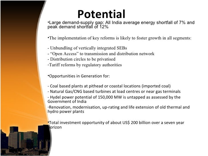 Infrastructure development in india