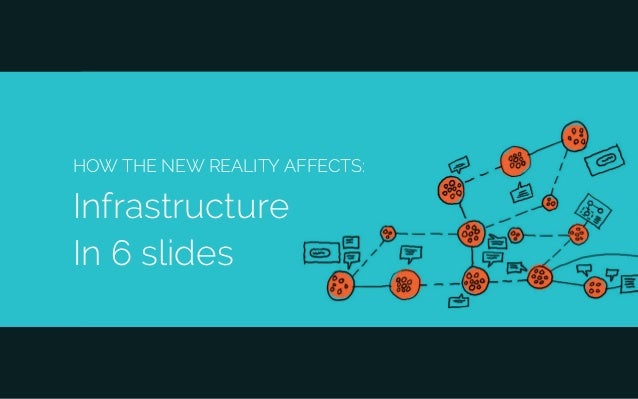 HOW THE NEW REALITY AFFECTS: Infrastructure In 6 slides