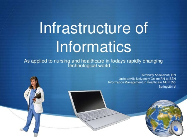 Infrastructure of         InformaticsAs applied to nursing and healthcare in todays rapidly changing                    te...