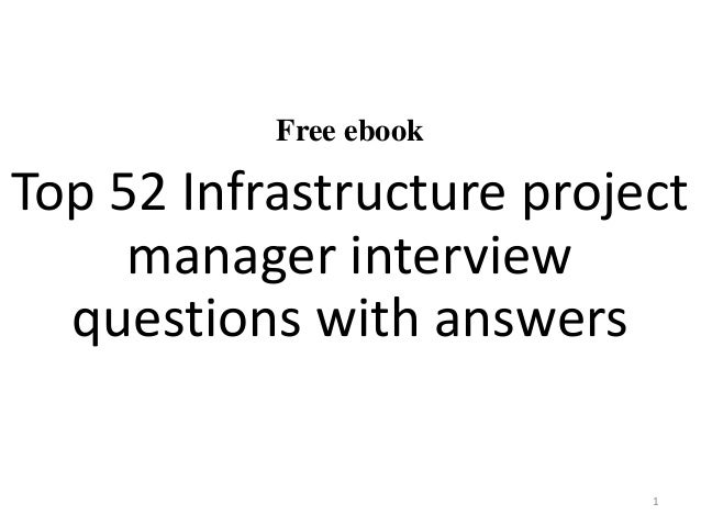 52 infrastructure project manager interview questions and answers pdf free ebook top 52 infrastructure project manager interview questions with answers 1 fandeluxe Image collections