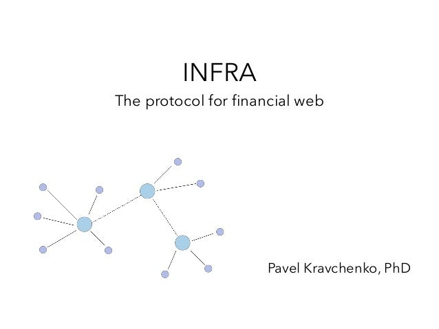 INFRA The protocol for financial web Pavel Kravchenko, PhD