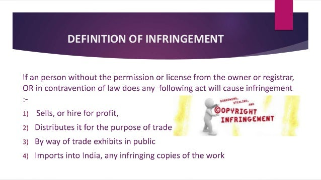 infringement of copyright  case laws