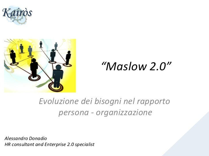 """Maslow 2.0""                                                                                                       Evo..."
