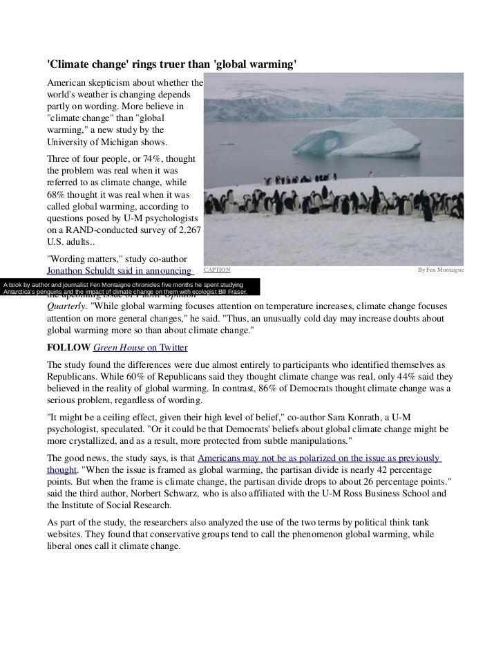 Climatechangeringstruerthanglobalwarming           Americanskepticismaboutwhetherthe           worldsweatheri...