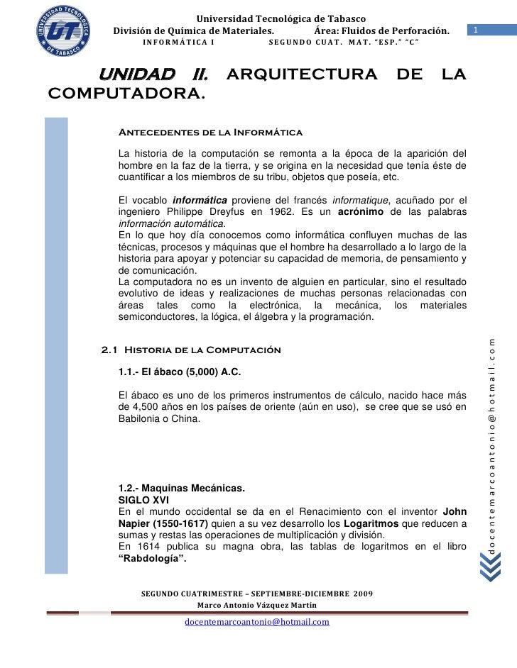 Universidad Tecnológica de Tabasco      División de Química de Materiales.       Área: Fluidos de Perforación.            ...