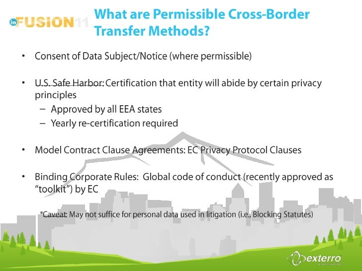 Cross-Border E-discovery: Navigating Rules and Regulations Across Mu…
