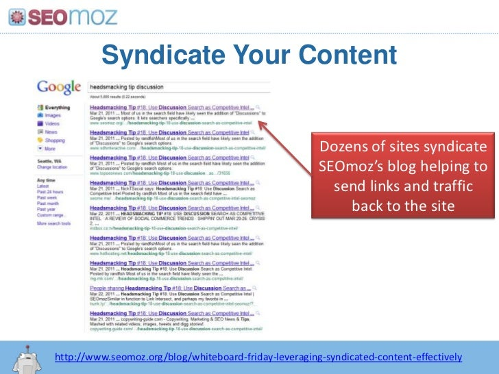 101 Ways to Build Links from SEOBook