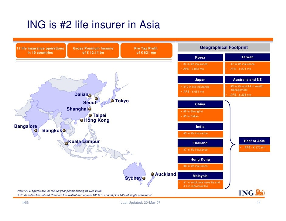 report ing insurance asia pacific Koster joins axa from ing where his most recent position was ceo of ing insurance asia pacific since 2009 frank koster joined ing group in 1996 where he held various positions in the netherlands and in asia.