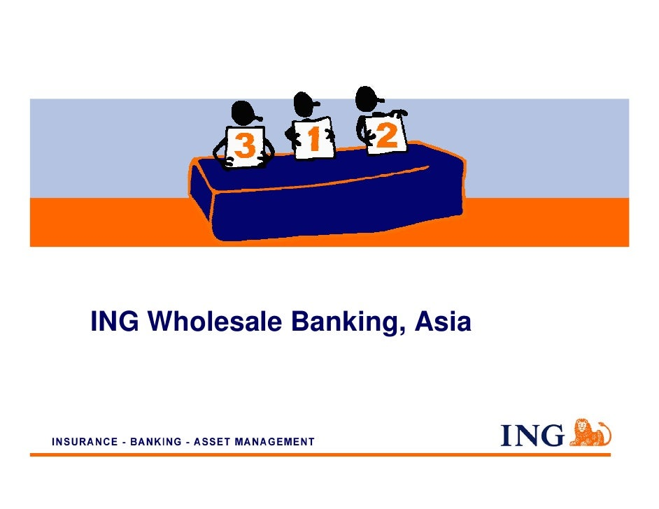 main trends of wholesale banking