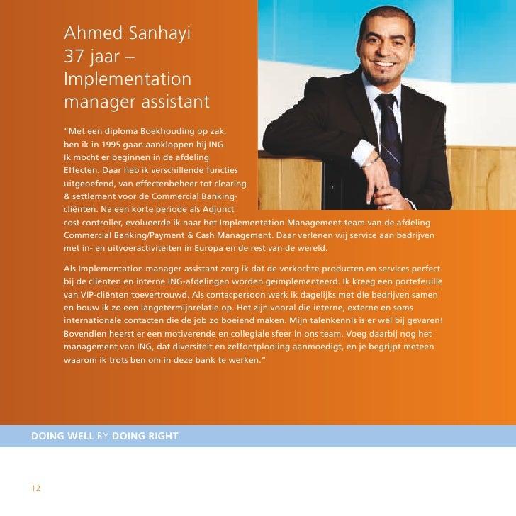 """Ahmed Sanhayi      37 jaar –      Implementation      manager assistant      """"Met een diploma Boekhouding op zak,      ben..."""