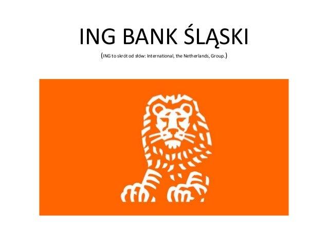 Prezentacja Ing Bank Śląski