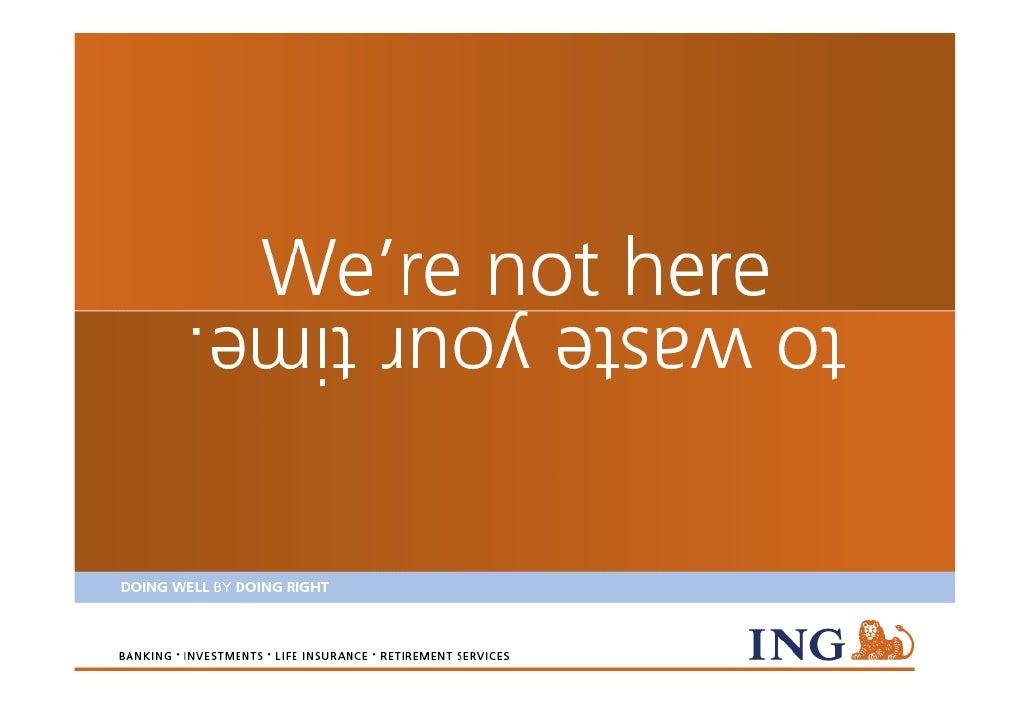 ING - Company presentation 2010