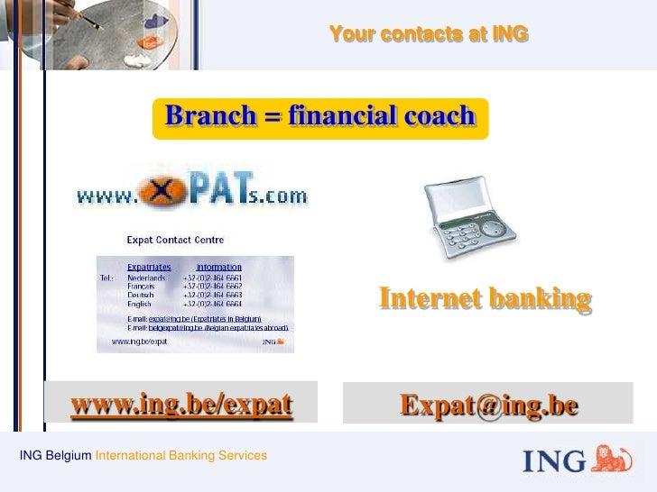 ing belgium bank number