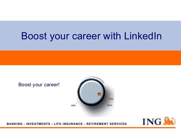 Boost your career with LinkedIn Boost your career!