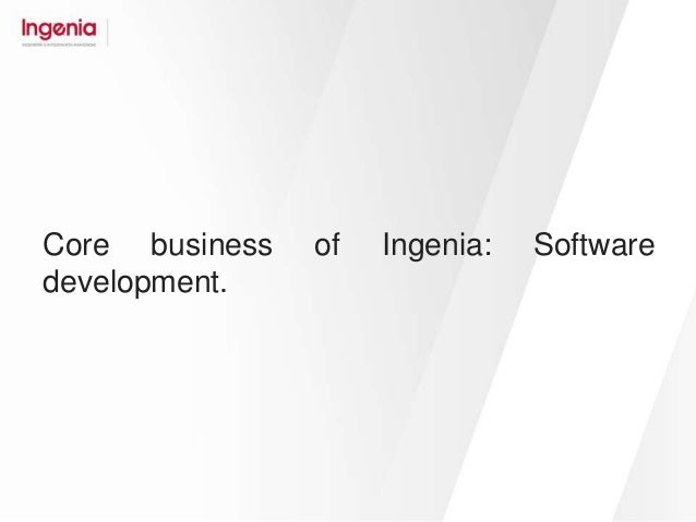 INGENIA: offshoring software development services for FinTech