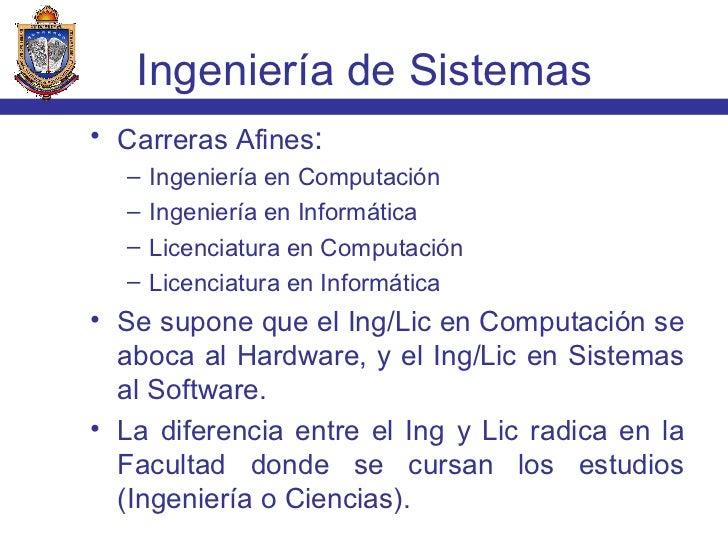 <ul><li>Carreras Afines : </li></ul><ul><ul><li>Ingeniería en Computación </li></ul></ul><ul><ul><li>Ingeniería en Informá...