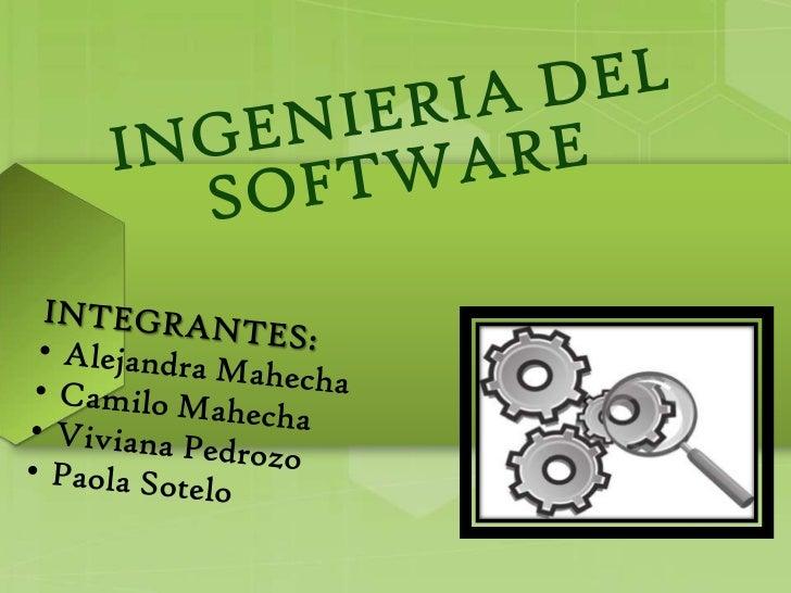 INDICE1. Ingeniería de Software2. El Proceso de Software3. Modelos de Proceso de Software    3.1 Modelo Lineal Secuencial ...
