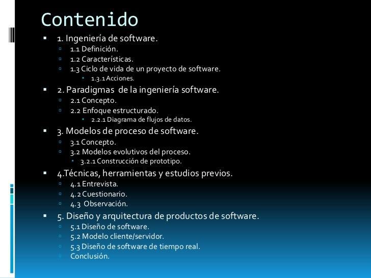 Ingenieria de software Slide 2