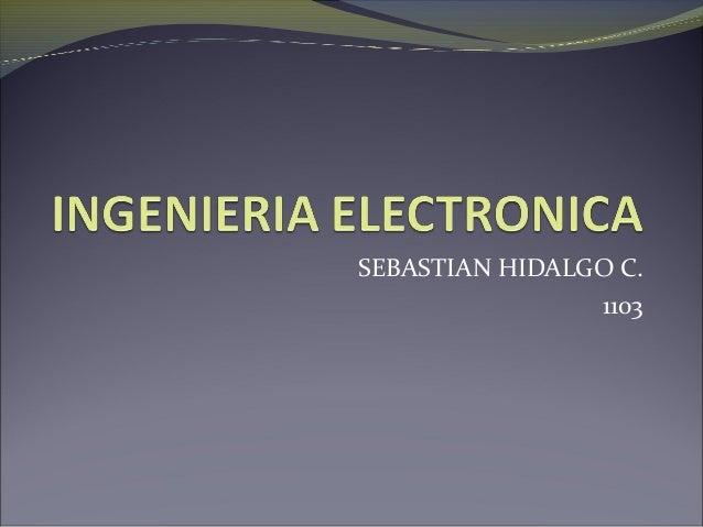 SEBASTIAN HIDALGO C. 1103