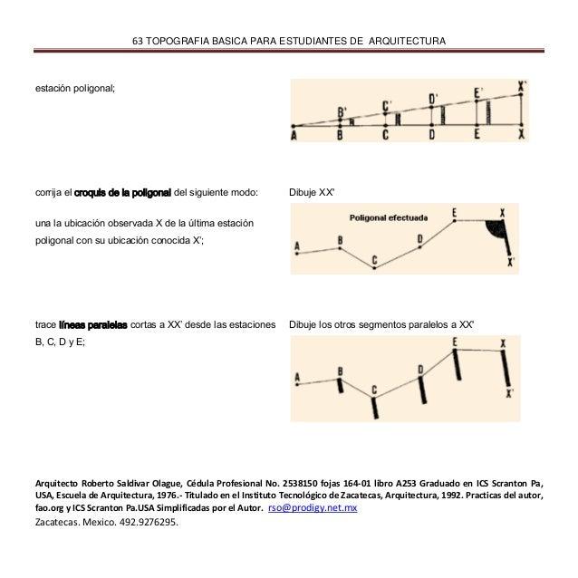 Ingenieria tpografica basica para estudiantes de arquitectura for Arquitectura tecnica a distancia