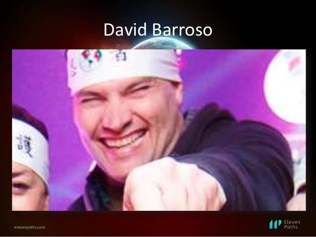 elevenpaths.com David Barroso