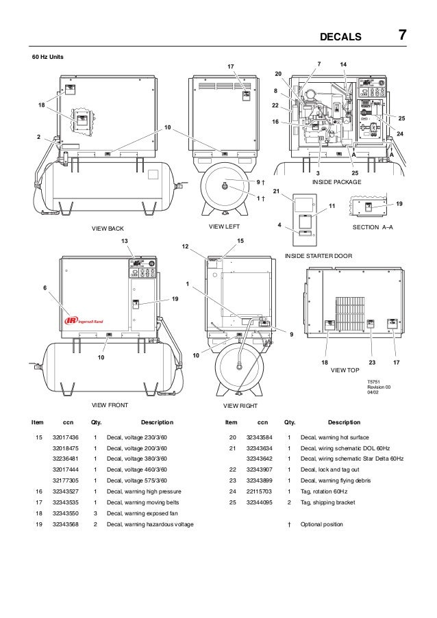 ingersoll rand 15 to 30 hp rotary screw air compressor manual jecIngersoll Rand Airpressor Parts Diagram Success #11