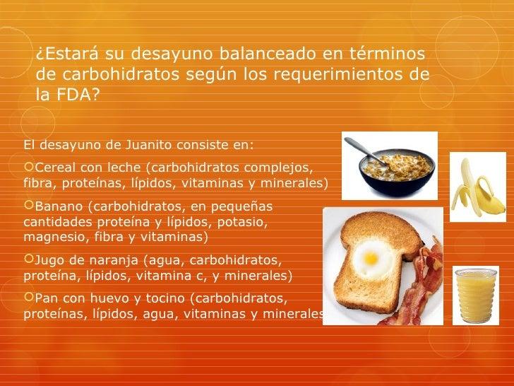 Ingesta de carbohidratos