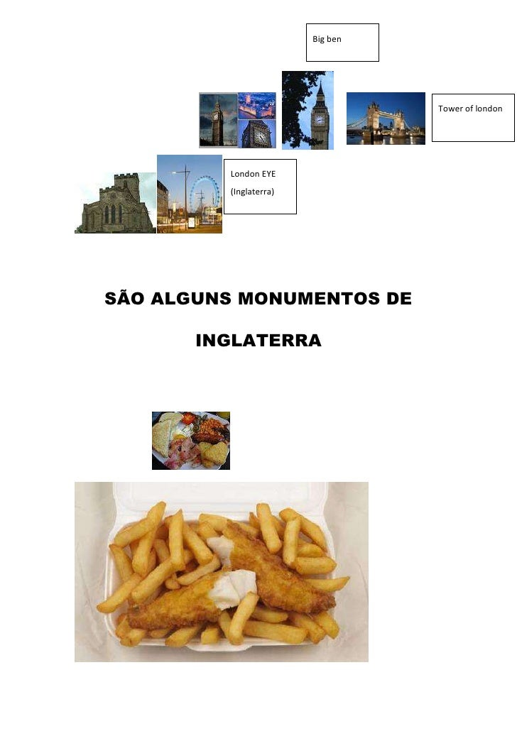 London EYE (Inglaterra)183451545275530441901479553996690452755Tower of londonBig ben<br />SÃO ALGUNS MONUMENTOS DE <br />I...