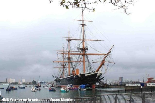 HMS Warrior 1860 -Navegar con propulsión a vapor