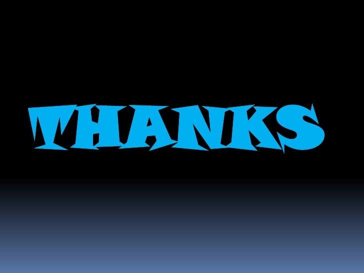 THANKS<br />