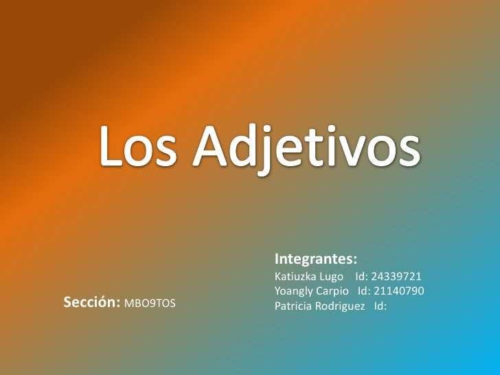 Integrantes:                   Katiuzka Lugo Id: 24339721                   Yoangly Carpio Id: 21140790Sección: MBO9TOS   ...