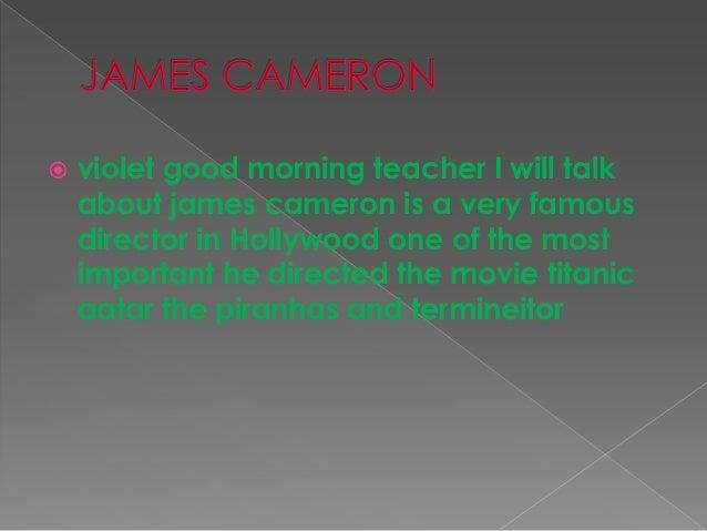 JAMES CAMERON Slide 2