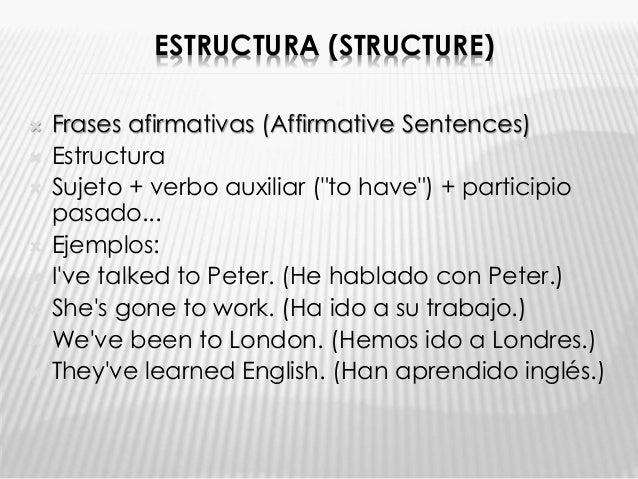 Gramática Del Presente Perfecto