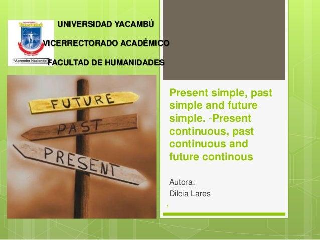Present Continuous | Past Continuous | Future Continuous ...