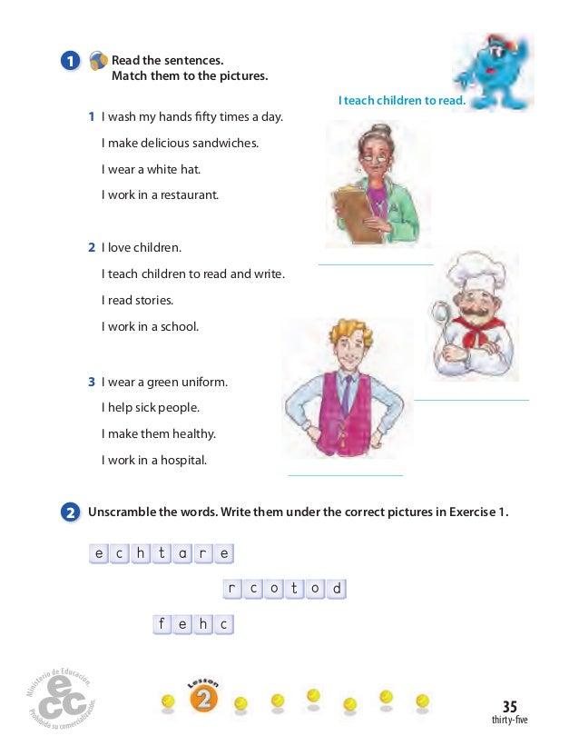 repaso de ingles para 4 primaria