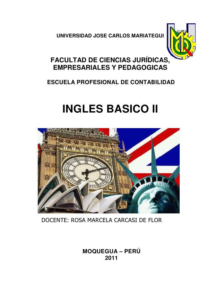 UNIVERSIDAD JOSE CARLOS MARIATEGUI  FACULTAD DE CIENCIAS JURÍDICAS,   EMPRESARIALES Y PEDAGOGICAS ESCUELA PROFESIONAL DE C...