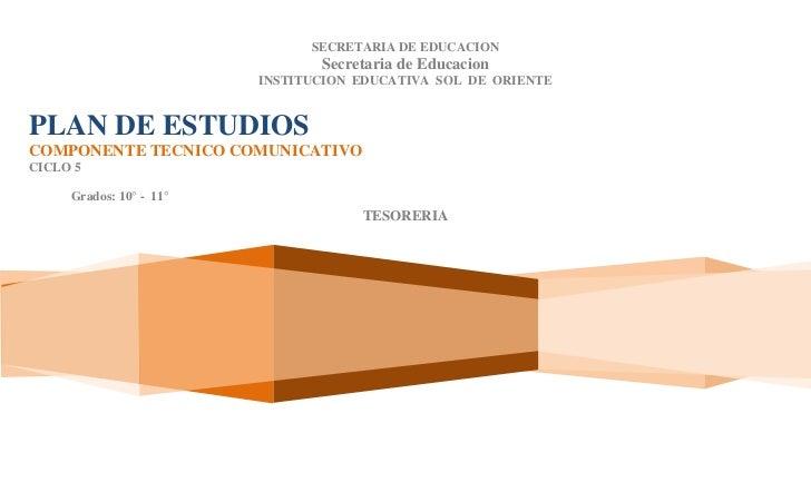 SECRETARIA DE EDUCACION                                Secretaria de Educacion                         INSTITUCION EDUCATI...