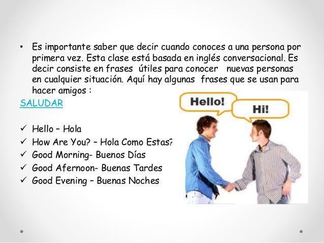 Frases para iniciar conversaciones en inglés – hablando uno-a-uno