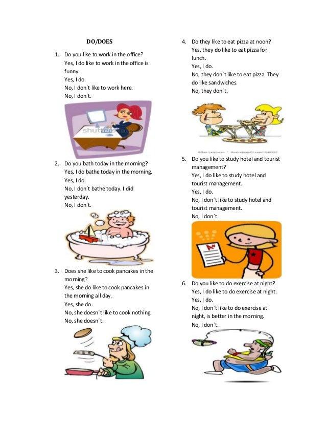 Ingles do does pdf