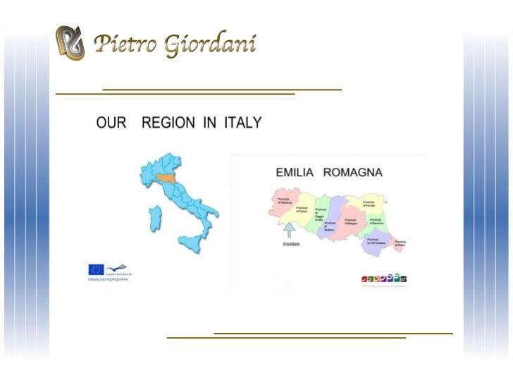 ISTITUTO STATALE DI ISTRUZIONE SECONDARIA SUPERIORE                       Via Lazio, 3 – 43122 PARMAwww.ipsgiordani.it - s...