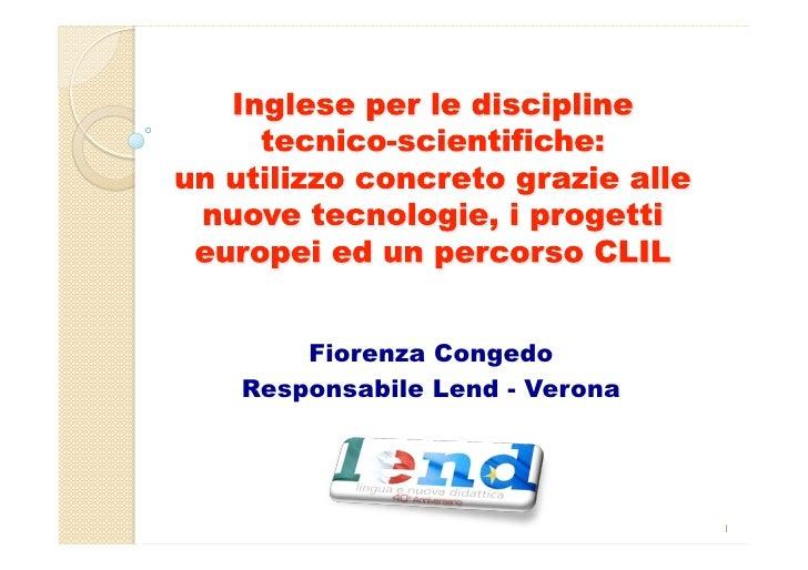 Fiorenza CongedoResponsabile Lend - Verona                             1