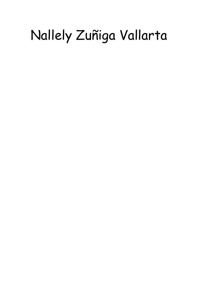 Nallely Zuñiga Vallarta <br />