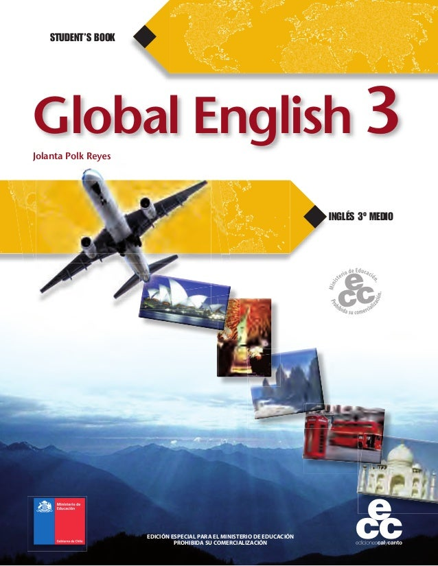 Libro de Ingles 3° medio 2014 (hojas de respuesta incluidas)