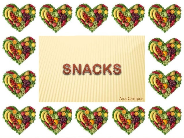SNACKS Ana Campos