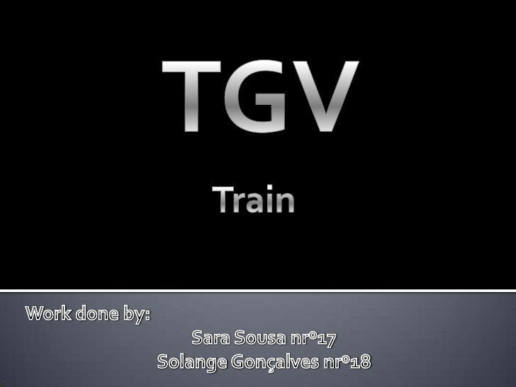 The TGV is France's long-distance rail service. It was developed during the 1970s by GEC-Alsthom and SNCIF, the French nat...