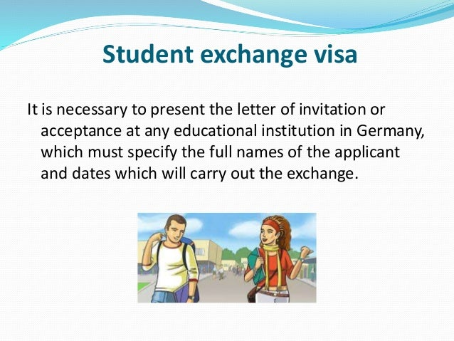 Process to get a visa in germany student exchange stopboris Image collections