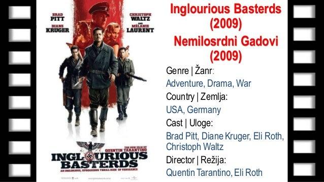 Inglourious Basterds (Nemilosrdni Gadovi) 2009 | Online sa ...