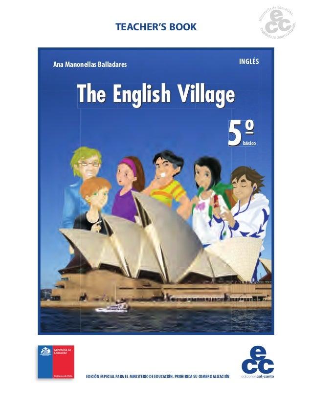 TEACHER'S BOOKAna Manonellas Balladares                                                                    INGLÉS       Th...